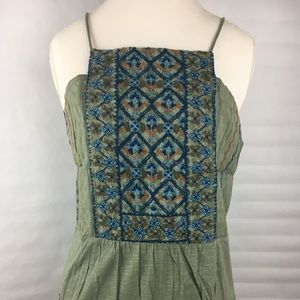 NWT Lucky Brand Embroidered Camisole
